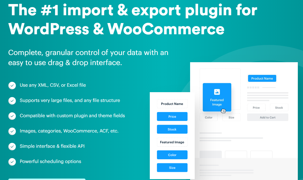 import-and-export data from WP
